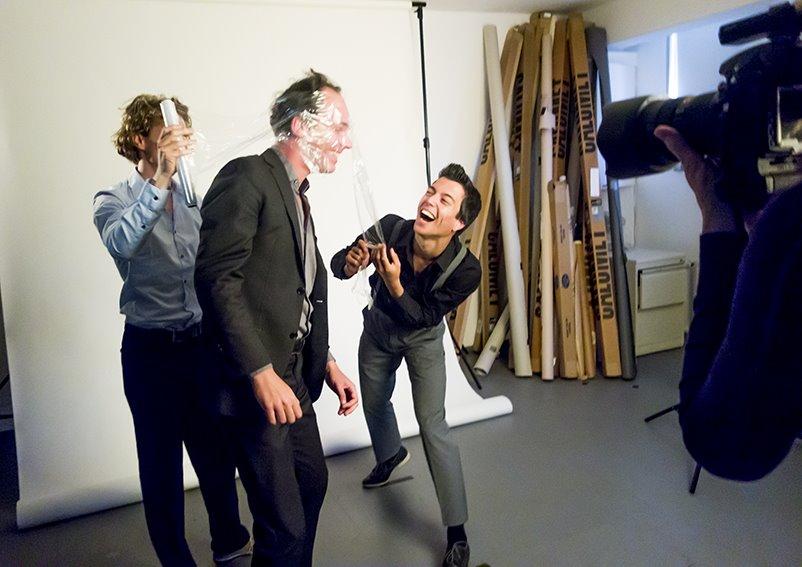 "Photoshoot cabaretgroep ""Beperkt houdbaar"""